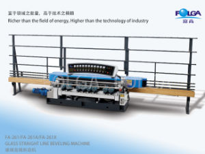 Fa-261A Glass Straight Line Beveling Machine pictures & photos