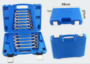 12PCS Professional Blowing Case Gear Wrench Set (FY1012E2) pictures & photos