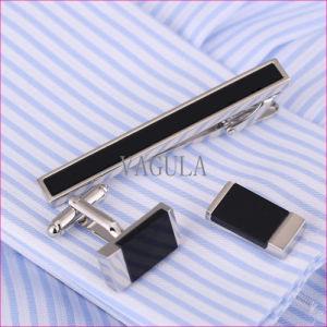 VAGULA Business De Corbata Onyx Tie Bar Agate Tie Pin Gift Tie Clip 35 pictures & photos