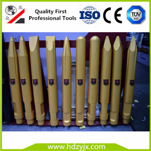2016 Hot Sale Daemo Hydraulic Breaker Chisel Wedged Chisel Moil Point Chisel pictures & photos