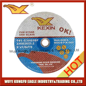 Cutting Disc- 230*3mm Professional Quality-Stone-Glass-Abrasive Thin Cutting Wheel pictures & photos