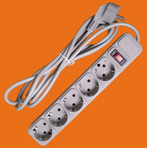 Elendax German Socket with Surge Protector (E2005ES) pictures & photos