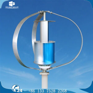 Vertical Axis AC Three Phase Multiple-Blade Residential Wind Turbine pictures & photos