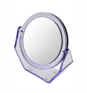 Double Side Foldable Mirror Make up Table Mirror for Cosmetic pictures & photos
