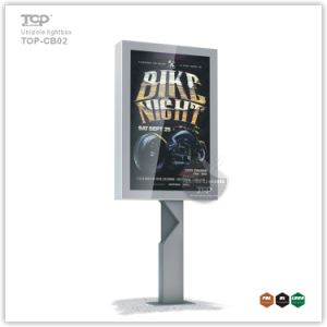 Horizontal Unipole Supported Advertising Light Box Billboard pictures & photos
