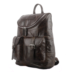 Slap-up Genuine Leather Backpack for Men′s Leather Shoulder Messanger Bags pictures & photos