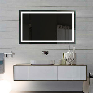 Hotel Vanity Electric Lighted Mirror Fogless LED Bathroom