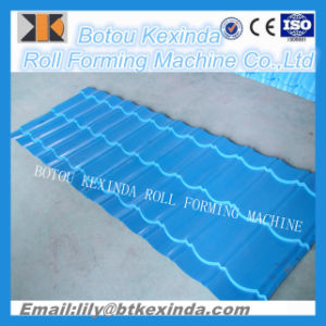 1080 Produce Roof Tile Forming Machine Glazed Tile Making Machine pictures & photos