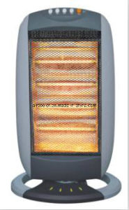1600W Halogen Heater with Oscillating