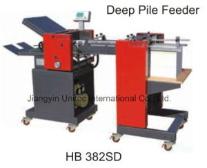 The Best Selling Products Paper Folder Machine with Automatic Paper Feeder Hb 382SD pictures & photos