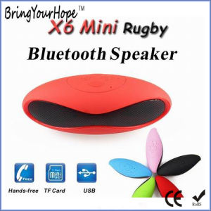 Mini-X6 Rugby Bluetooth Speaker with TF/USB Play (XH-PS-626S) pictures & photos