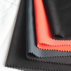 100% Polyester 300t Pongee Composite knitting Fabric pictures & photos