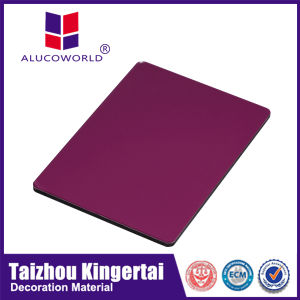 Alucoworld Wooden Drawing Construction Materials Price List Aluminium Composite Material pictures & photos