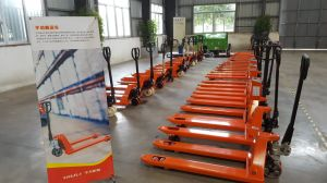 AC Hydraulic Hand Pallet Truck with Ce and Other Certificates pictures & photos