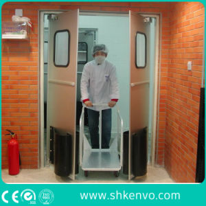 Glazed Impact Traffic Swinging Door for Supermarket pictures & photos