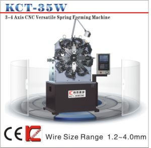 Kct-35W 3.5mm 4 Axis CNC Versatile Spring Forming Machine&Torsion/Extension Spring Making Machine pictures & photos