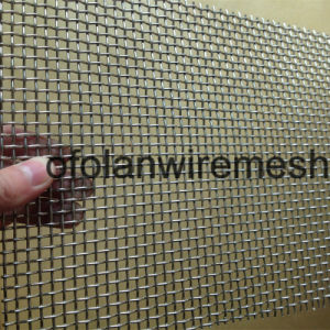Titanium Wire Mesh Applied in Caustic Alkalies Caustic Soda 20 Mesh 0.3mm pictures & photos