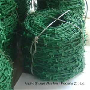 Barbed Wire Mesh Fence Motto Type Barbed Wire pictures & photos
