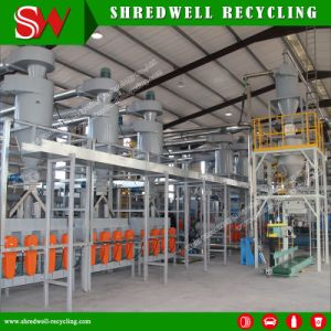 Cost-Effective Responsible Tire Recycling Line Producing Powder/with Crack Resistance Benefit pictures & photos