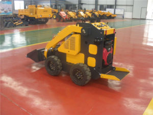 China 23HP Pedal Standing Mini Loader with Trencher for Sale pictures & photos
