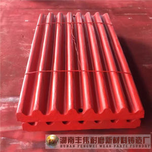 High Manganese Steel Jaw Crusher Wear Parts Jaw Plate