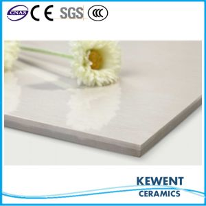 Hot Sale Linestone Series White Doule Loading Polished Porcelain Tile pictures & photos