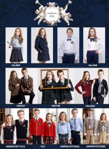 Middle School Boy Student′s School Uniform pictures & photos