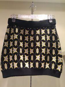 Lady′s Short Knitted Skirt