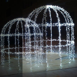 LED Bird Cage Creative Design Christmas DIY Decorations pictures & photos
