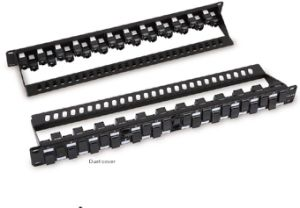 UTP Cat. 6A 24 Ports Patch Panel pictures & photos