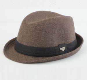 Little Brim Wool Fedora Hat pictures & photos