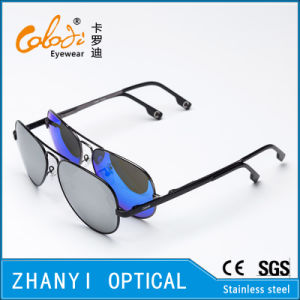 Fashion Colorful Metal Sunglasses for Driving with Polaroid Lense (3025-C4) pictures & photos