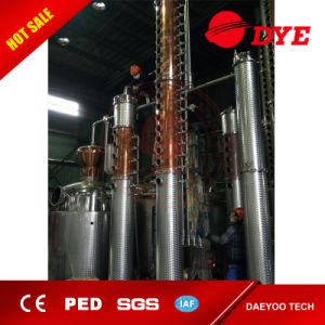 2500L Industrial Alcohol Distillery Whisky Copper Distiller pictures & photos