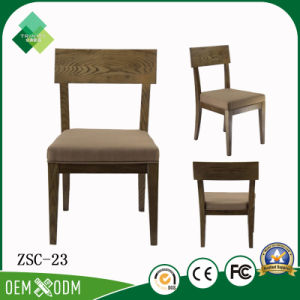 Foshan Furniture Factory Wholesale Retro Ashtree Wood Dining Chair (ZSC-23) pictures & photos