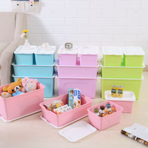 Top Advertising Household Toy Clothes Plastic Storage Box pictures & photos