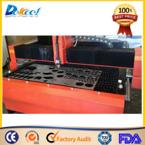 Customized China Dekcel CNC Plasma Cutting Router Machine for Metal pictures & photos