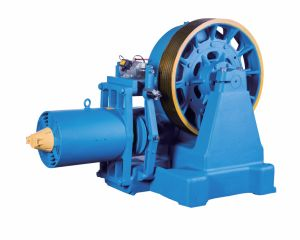 Geared Traction Machine of Elevators (YJ360) pictures & photos