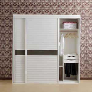 Modern Style Plywood Bedroom Furniture with Sliding Door pictures & photos