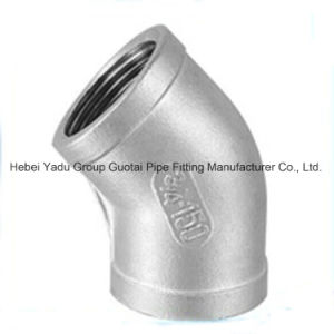 304 Stainless Steel Female Pipe Fittings Elbow pictures & photos