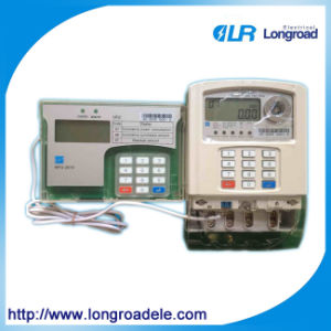 Single Phases Keypad Prepayment Energy Meter pictures & photos