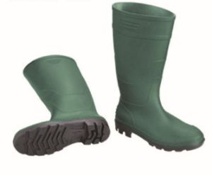 PVC Rain Boot Safety Wellington Footwear with Iron Toe pictures & photos