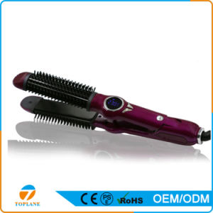 Hot Selling Flat Iron Hair Straightener with Curler pictures & photos