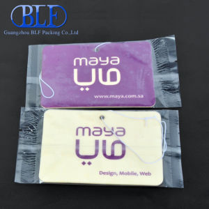 Full Color Printing Car Freshener Paper (BLF-C064) pictures & photos