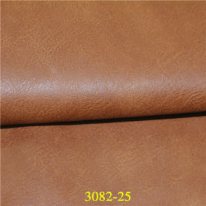 High Quality Classic Design Shoe Material PU Imitation Leather pictures & photos