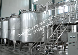 Turn-Key Milk Production/Processing Line (1t/day~100t/day) pictures & photos