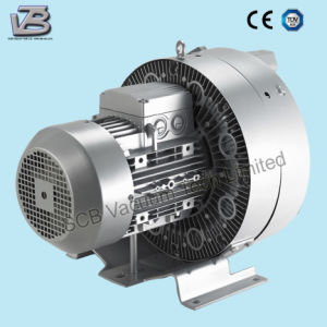 Water Treatment Double Stage Side Channel Vacuum Blower pictures & photos