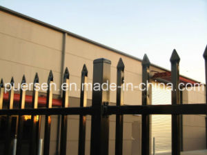 Power Coat Garrison Metal Steel Fence pictures & photos