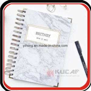 New Arrival Customized Gold Name Notebook Planner pictures & photos