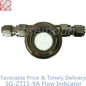 Pipe Fitting Stainless Steel Sight Glass Indicator pictures & photos