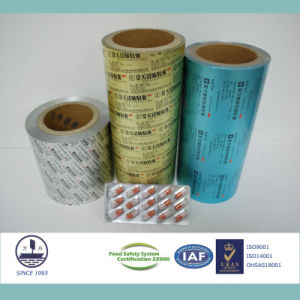 0.024mm Thickness Pharmaceutical Ptp Aluminum Foil for Packaging Pills Alloy 8011 H18 pictures & photos